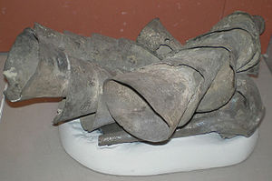 Imports to Ur - Silver vessels found in the tomb of queen Puabi in Ur