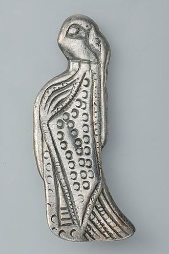 Vikings - Pendant of silver, Viking age, Sweden.
