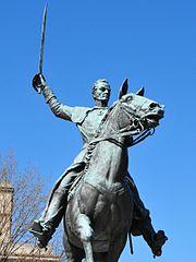 Equestrian of Simón Bolívar