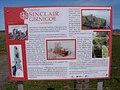 Sinclair Girnigoe Castle Information Board - geograph.org.uk - 1565716.jpg