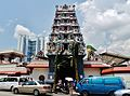 Singapore Tempel Sri Mariammam Gopuram 1.jpg