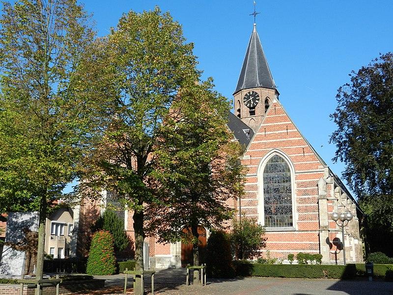 Sint-Antonius Abt kerk, Moerbeke-Waas