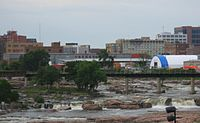 Sioux Falls, largest city
