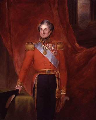 95th (Derbyshire) Regiment of Foot - General Sir Colin Halkett, founder of the regiment, by William Salter