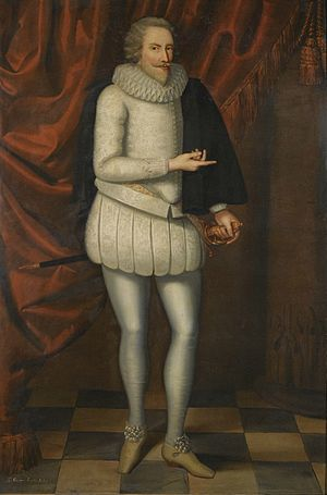Sir George Savile, 1st Baronet - Portrait of George Savile by Marcus Gheeraerts the Younger