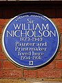 Sir WILLIAM NICHOLSON Painter and Printmaker lived here 1904-1906.jpg