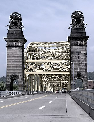 David McCullough Bridge - Image: Sixteenth Street Bridge Pittsburgh PA