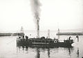 Sjødampsprøyten ved Skansen - Steamboat firefighters in the channel (før 1918) (3456106763).jpg