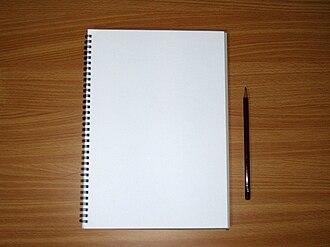 Sketchbook - Sketchbook and pencil.