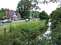 Smestow Brook and A454, Wightwick, near Wolverhampton - geograph.org.uk - 475067.jpg