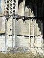 Soissons (02), abbaye Saint-Jean-des-Vignes, abbatiale, façade occidentale, portail du bas-côté nord, piédroit gauche.jpg