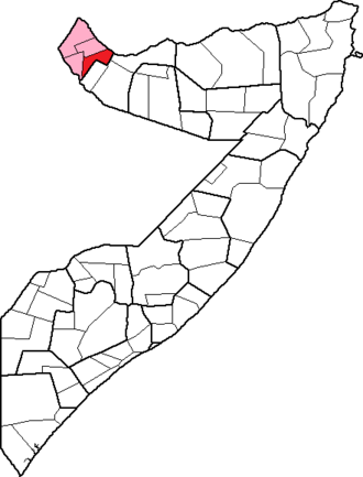 Baki District - Image: Somalia, Awdal region, Baki District