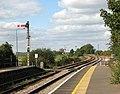 Somerleyton railway station - this way to Norwich - geograph.org.uk - 1505952.jpg