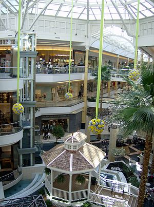 Troy, Michigan - The Somerset Collection in Troy is a popular shopping center.