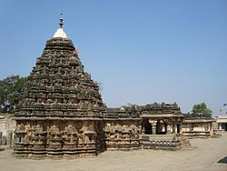 Someshwara temple complex at Lakshmeshwara
