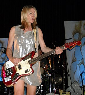 Kim Gordon American musician, bassist of Sonic Youth