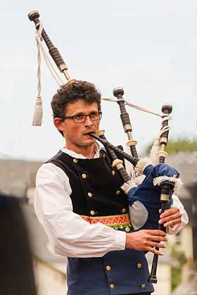 Image illustrative de l'article Great Highland bagpipe