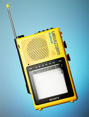 Sony Watchman - Sony Sports Watchman