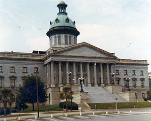 South Carolina State House - The State House in 1969
