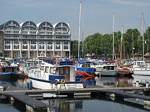 South Dock, Rotherhithe - South Dock Housing and marina