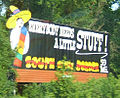 South of the Border sign 59 - Everybody needs a little stuff.JPG