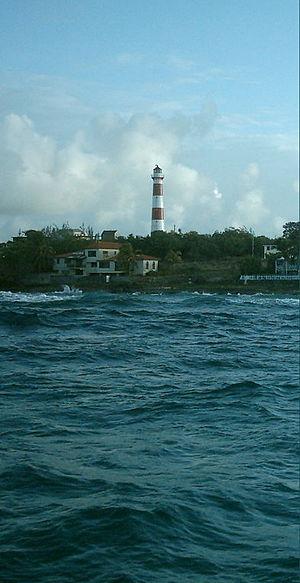 South Point Lighthouse - South Point Lighthouse in 2007.