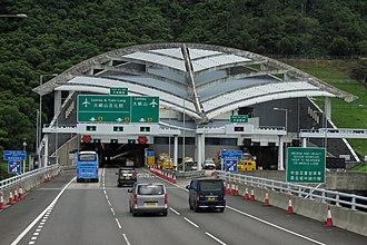 Nam Wan Tunnel - Image: Southeast portal of Nam Wan Tunnel (20180903102500)