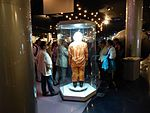 Space suits in Memorial Museum of Cosmonautics, Moscow, Russia, 2016 03.jpg