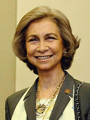 Queen Sofía of Spain - The Queen in 2003