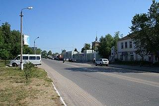 Spassk-Ryazansky Town in Ryazan Oblast, Russia