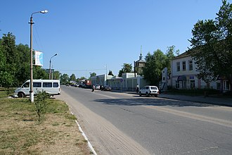 Spassk-Ryazansky - Spassk-Ryazansky town center