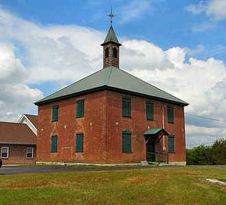 Speedwell, Tennessee - The old Speedwell Academy building in Speedwell