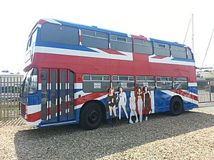 Spice World (film) - The bus used in the Spice World movie.