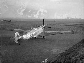 North Weald Airfield - A Spitfire Mk VI at North Weald in 1942