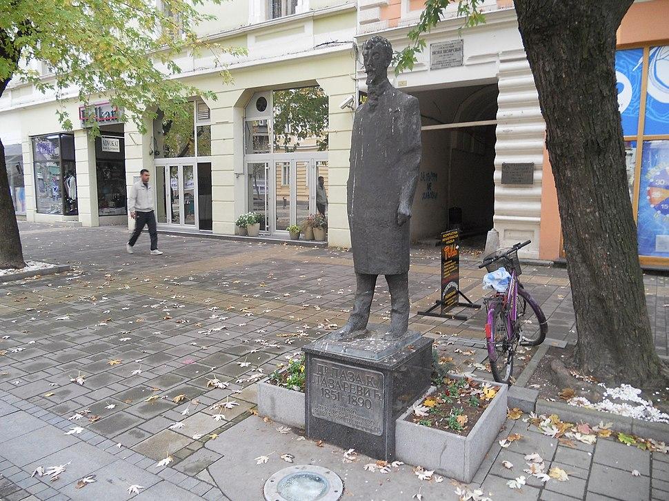 Spomenik Lazi Lazareviću 2 Šabac