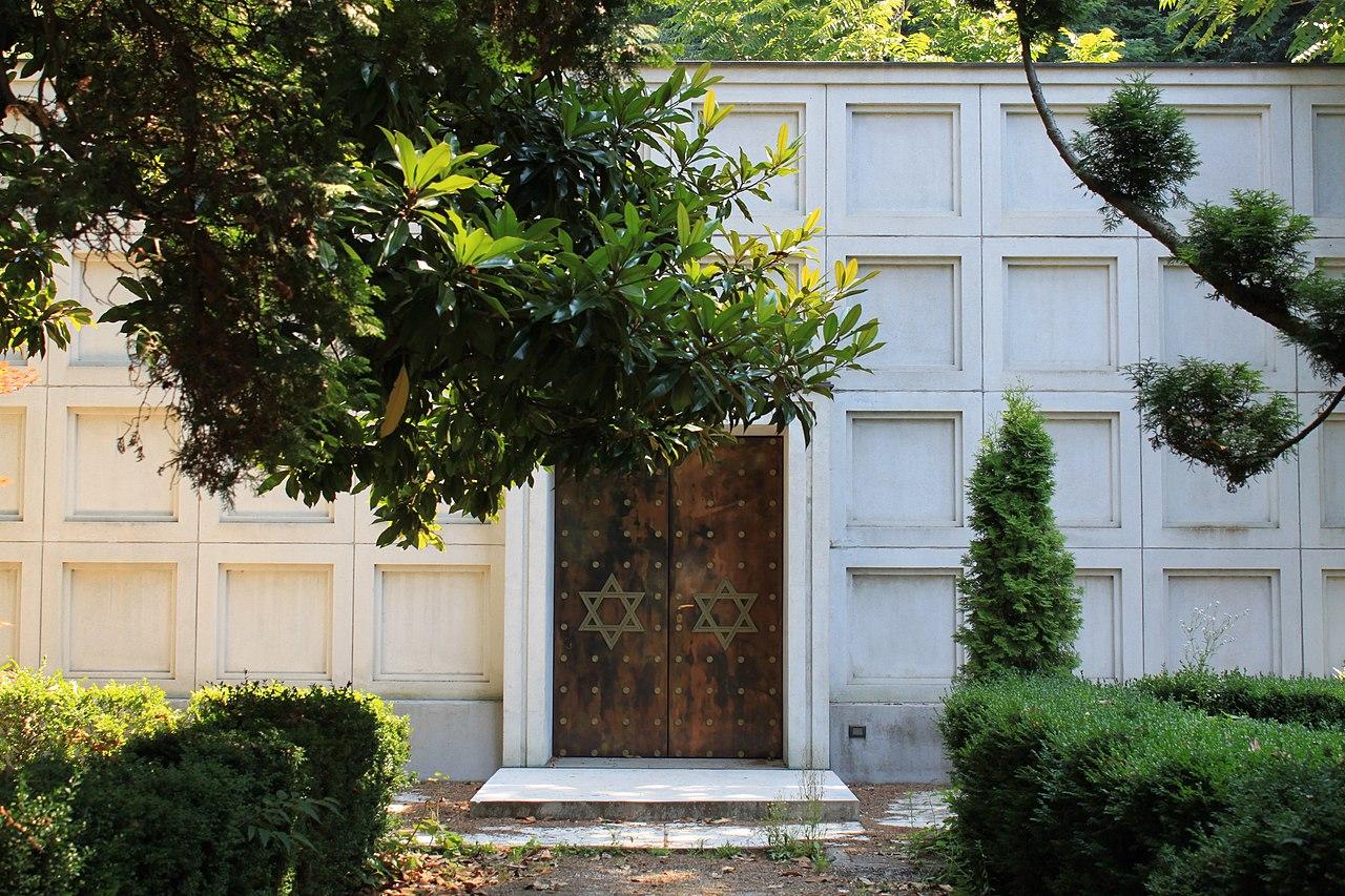 Städtischer Friedhof Bozen - Jüdischer Friedhof 1.JPG