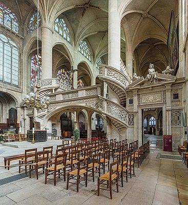 St-Etienne-du-Mont Interior 3, Paris, France - Diliff.jpg