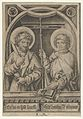 St. Bartholomew and St. Philip, from The Apostles MET DP841618.jpg