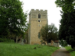 Great Maplestead - Image: St. Giles' church, Great Maplestead, Essex geograph.org.uk 175036