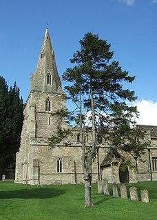 North Luffenham village in United Kingdom