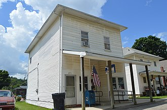 St. Louisville, Ohio - Post office