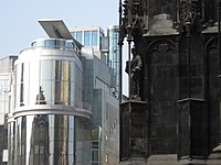 St. Stephen's Cathedral and DO ^ CO Hotel, Vienna - panoramio.jpg