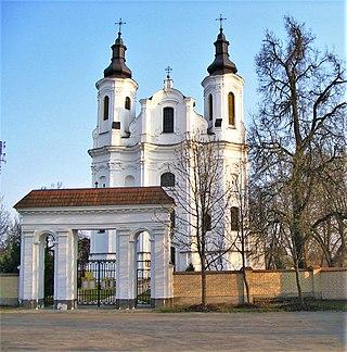 Слонім костел святого андрія 1775