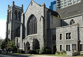 """Supernatural (season 2) - Part of """"Houses of the Holy"""" was filmed at St. Andrew's-Wesley United Church."""