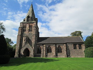 Longsdon village and civil parish in Staffordshire, England