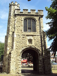 Hildelith Abbess of Barking in Essex, England