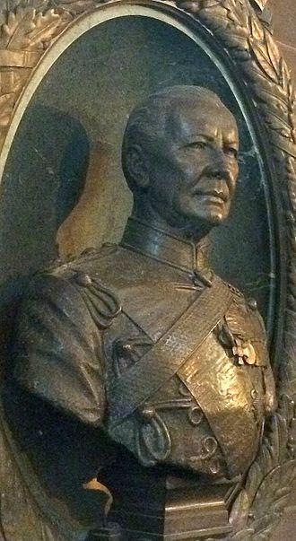 Hugh Grosvenor, 2nd Duke of Westminster - The 2nd Duke's portrait bust at St Mary's Church, Eccleston