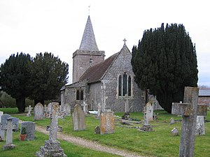 Goodworth Clatford - Image: St Peter's Church, Goodworth Clatford, Hampshire