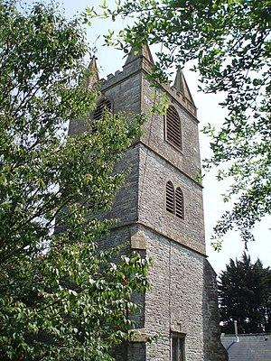 Church of St Peter, Marksbury - The tower
