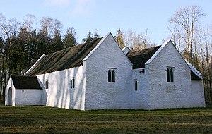 St Teilo's Church, Llandeilo Tal-y-bont - St Teilo's Church in its present setting at St Fagans